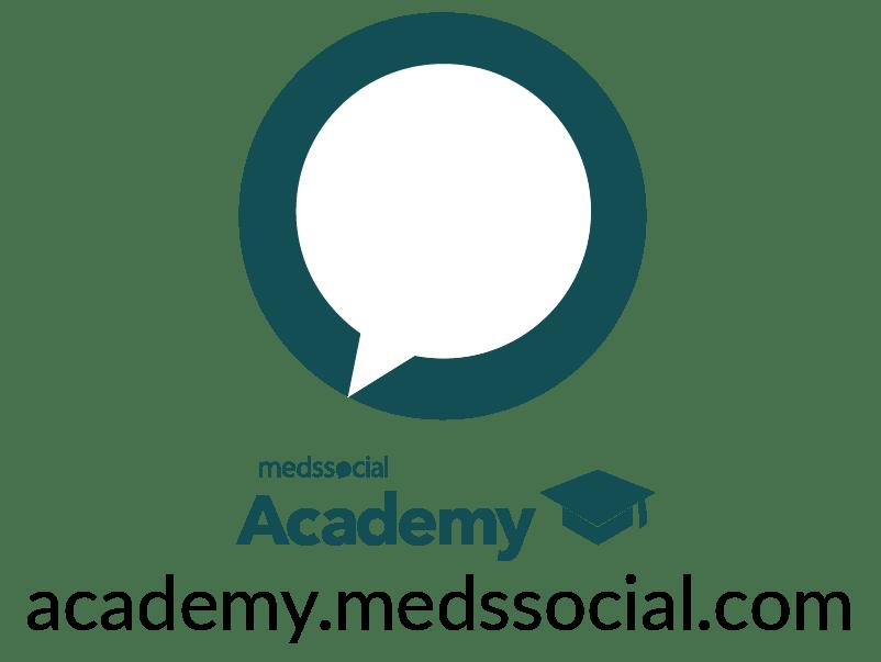 Imagotipo medssocial academy para home medssocial.com