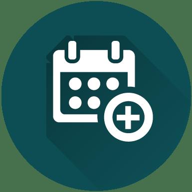 Icono CITA ONLINE Medssocial