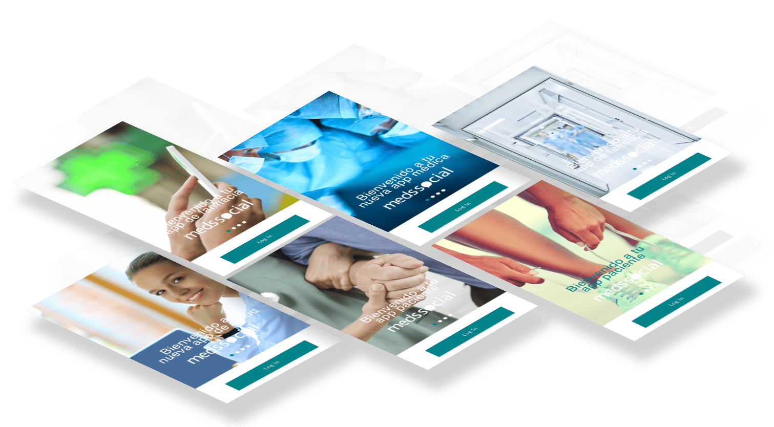 Imagen familia de apps plataforma de salud online medssocial