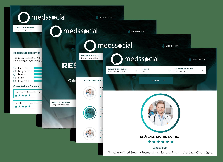 Sofware buscador medico y de farmacias medssocial
